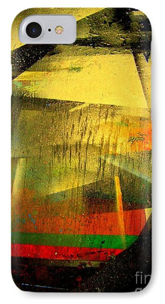 IPhone Case featuring the painting Work Bench by Greg Moores