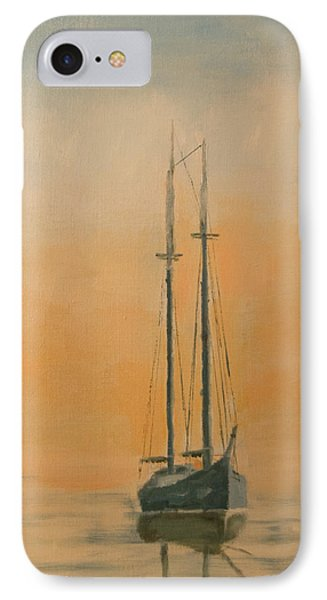 Work Boat At Rest IPhone Case by Christopher Jenkins