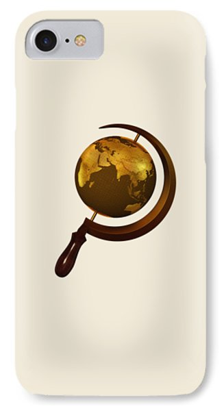 Workers Of The Globe IPhone Case by Nicholas Ely