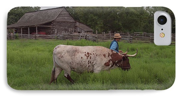 IPhone Case featuring the photograph Working Farm Oxen by Joshua House