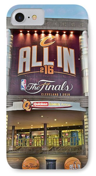 World Champion Cleveland Cavaliers IPhone Case by Frozen in Time Fine Art Photography