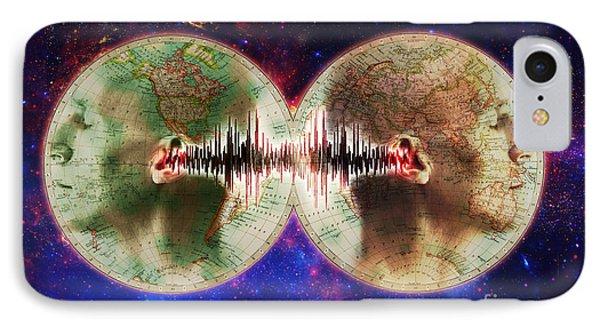 World Communications IPhone Case