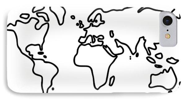 World Globe IPhone Case