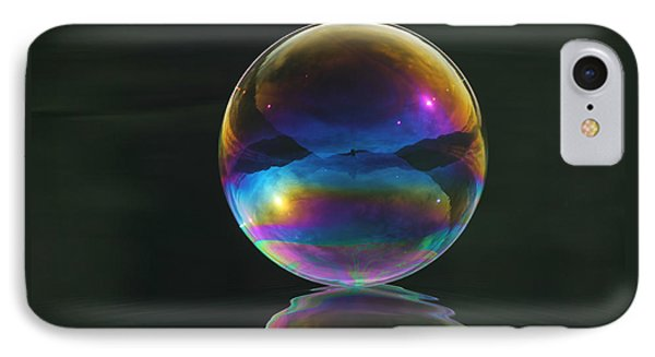 World Of Refraction IPhone Case by Cathie Douglas