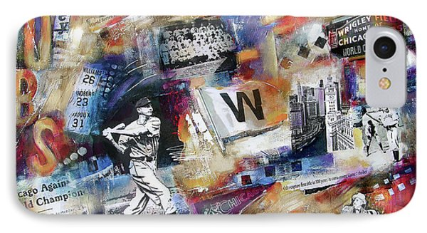 World Series 2016 IPhone Case by Kathleen Patrick