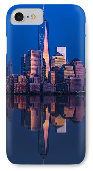 World Trade Center Reflections IPhone Case