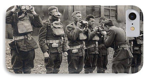 World War I: Gas Masks Phone Case by Granger