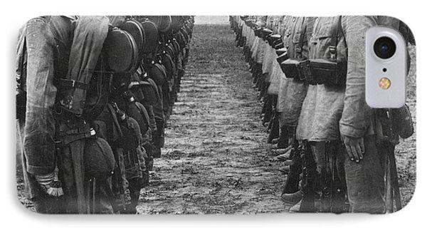 World War I: German Troop Phone Case by Granger