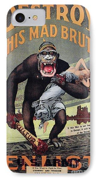 World War I: Recruitment Phone Case by Granger