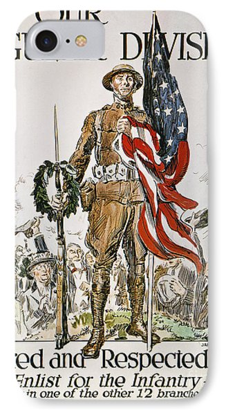 World War I: U.s. Army Phone Case by Granger