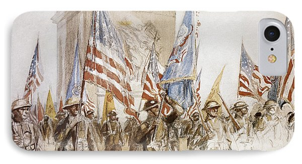 World War I: Victory Parade Phone Case by Granger
