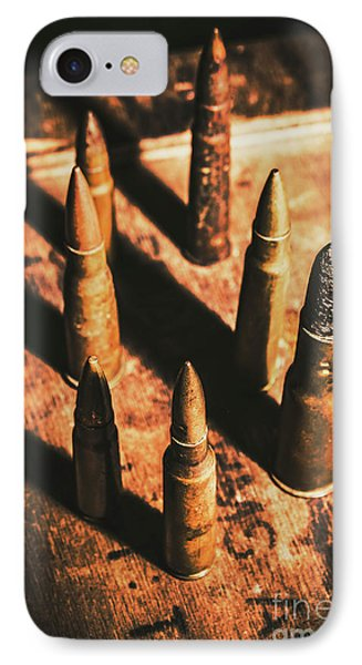 World War II Ammunition IPhone Case by Jorgo Photography - Wall Art Gallery