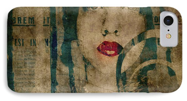 World Without Love  IPhone Case by Paul Lovering