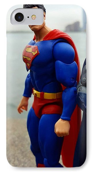 Worlds Finest IPhone Case by Leon Heart
