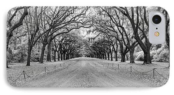 IPhone Case featuring the photograph Wormsloe Pathway by Jon Glaser