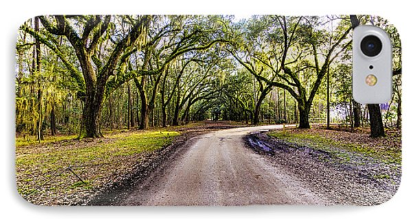 IPhone Case featuring the photograph Wormsloe Road by Anthony Baatz