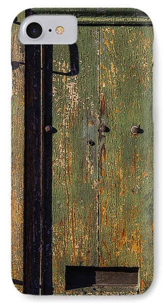 Worn Green Door IPhone Case