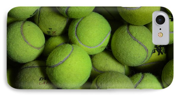 Worn Out Tennis Balls IPhone Case by Paul Ward