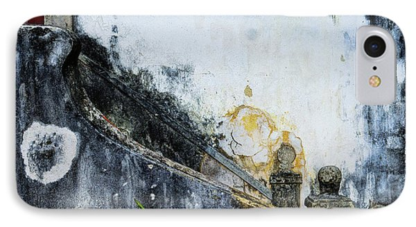 IPhone Case featuring the photograph Worn Palace Stairs by Marion McCristall