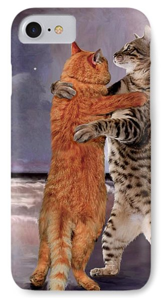 Would You Like To Dance IPhone Case by Ron Chambers