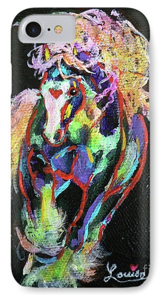 Wraggle Taggle Gypsy Cob Phone Case by Louise Green