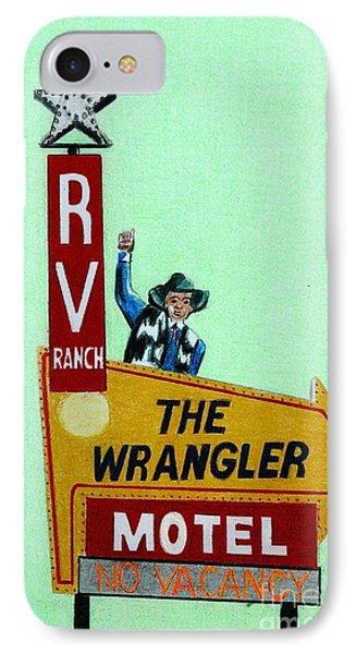 Wrangler Motel IPhone Case