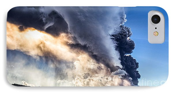 Wrath Of Nature IPhone Case by Giuseppe Torre