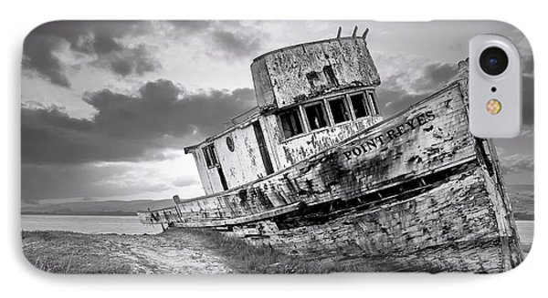 Wrecked In Point Reyes IPhone Case