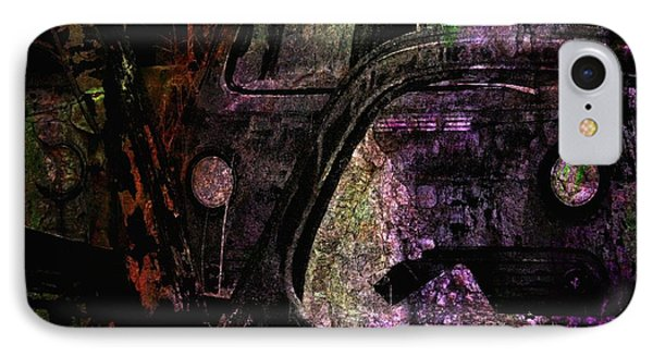 IPhone Case featuring the photograph Wrecking Yard Design by Jim Vance