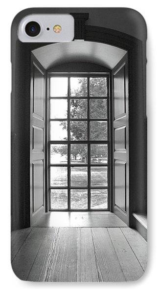 Wren Building Window IPhone Case