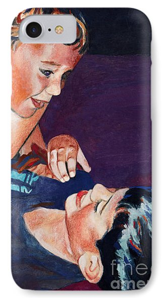 Wrestling Brothers IPhone Case by Deanna Yildiz