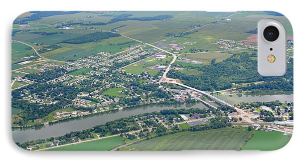 Wrightstown Wisconsin IPhone Case by Bill Lang