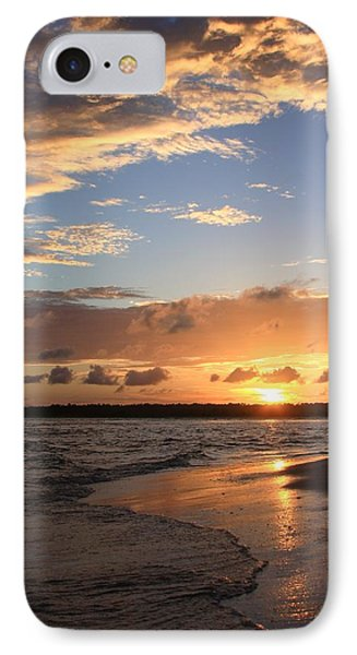 Wrightsville Beach Island Sunset IPhone Case by Mountains to the Sea Photo