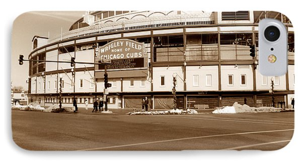 Wrigley Field IPhone Case by David Bearden