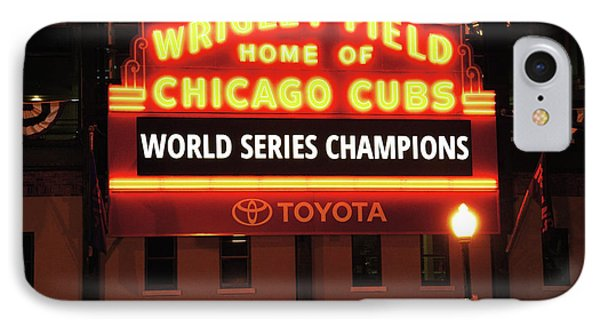 Chicago Cubs World Series IPhone Case by Horsch Gallery