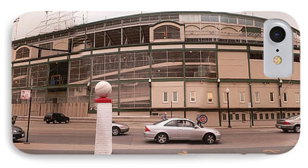 Wrigley On Clark IPhone Case by David Bearden