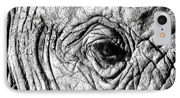 Wrinkled Eye IPhone Case