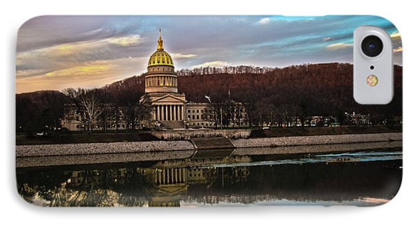 Wv State Capitol At Dusk IPhone Case
