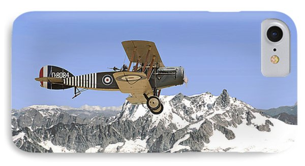 IPhone Case featuring the photograph Ww1 - Bristol Fighter by Pat Speirs