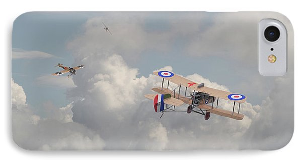 Ww1 - The Fokker Scourge - Eindecker IPhone Case