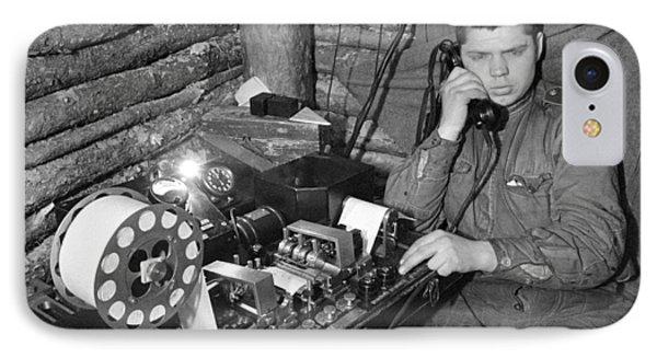 Ww2 Artillery Detection Equipment, 1944 Phone Case by Ria Novosti