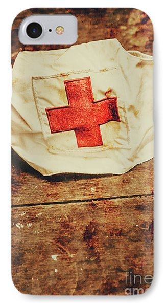 Ww2 Nurse Hat. Army Medical Corps IPhone 7 Case
