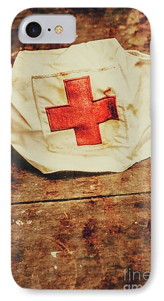 Ww2 Nurse Hat. Army Medical Corps IPhone Case by Jorgo Photography - Wall Art Gallery