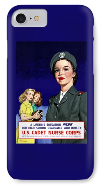 Ww2 Us Cadet Nurse Corps IPhone Case