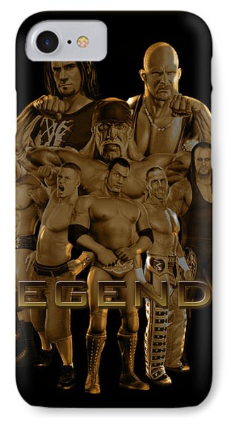 Wwe Legends By Gbs Phone Case by Anibal Diaz