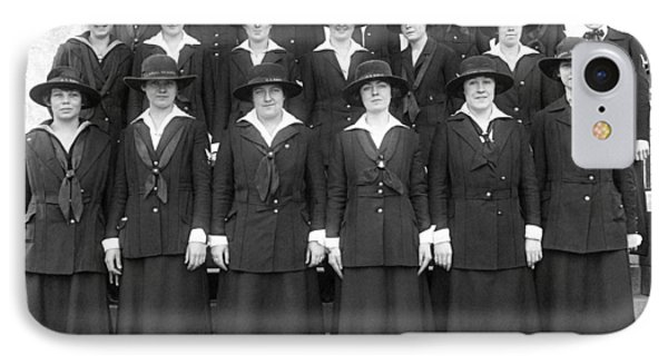 Wwi Navy Women Yeoman IPhone Case by Underwood Archives