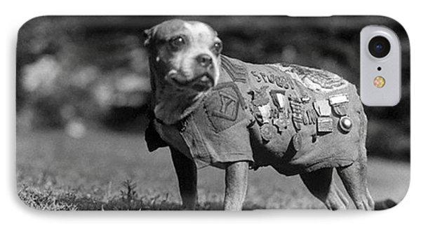 Wwi, Sergeant Stubby, American War Dog IPhone Case