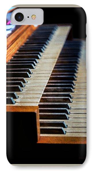 Wye Mills Church Organ IPhone Case by Brian Wallace