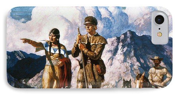 Wyeth: Sacajawea Phone Case by Granger