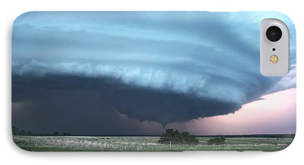 IPhone Case featuring the photograph Wynnewood Tornado by James Menzies